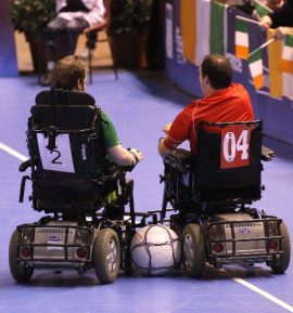 Powerchair football, una realtà sportiva anche in Italia