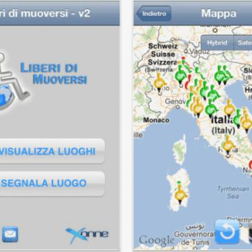 Liberi di muoversi: la app contro le barriere architettoniche
