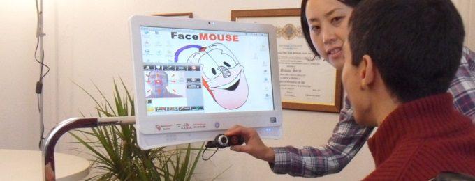 Face Mouse aiuta la comunicazione dei disabili