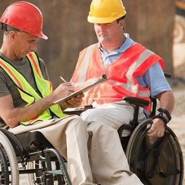 Lavoratori disabili in carrozzina