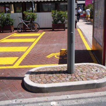 Vendicatore parcheggi disabili a Lecce