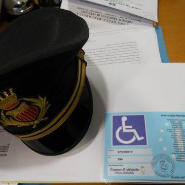 Multa a disabile per pass scolorito