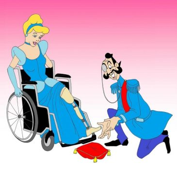 Principessa Disney disabile