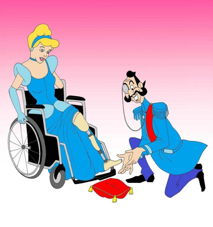 Provocazione Di Alexandro Palombo Eroine Disney Disabili