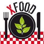 Logo ristorante XFood gestito da disabili