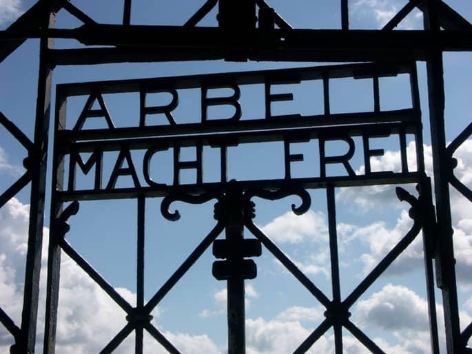 Immagine simbolo dei campi di sterminio nazisti