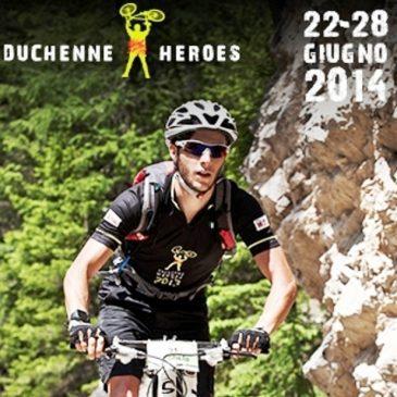 Il manifesto dei bikers Duchenne Heroes