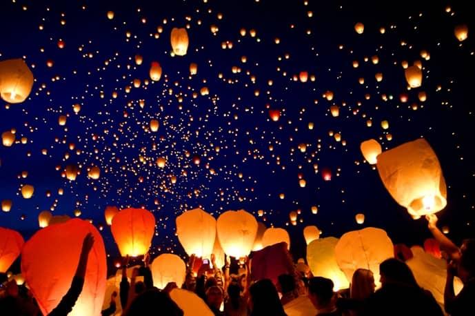 Nella giornata della Duchenne volano in alto le lanterne