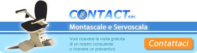 Contact Srl montascale e servoscala