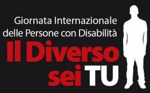 Locandina della giornata Internazionale della disabilità
