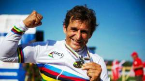 Alex Zanardi medaglia d'oro ai giochi paralimpici  di Londra 2012