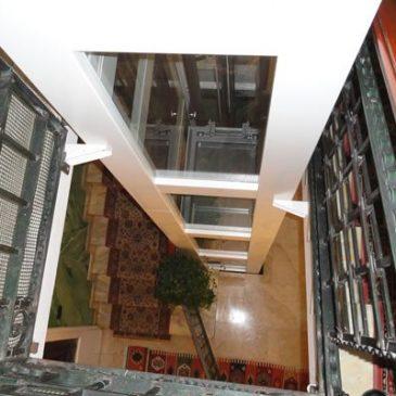 Piattaforma elevatrice Contact installata a Milano