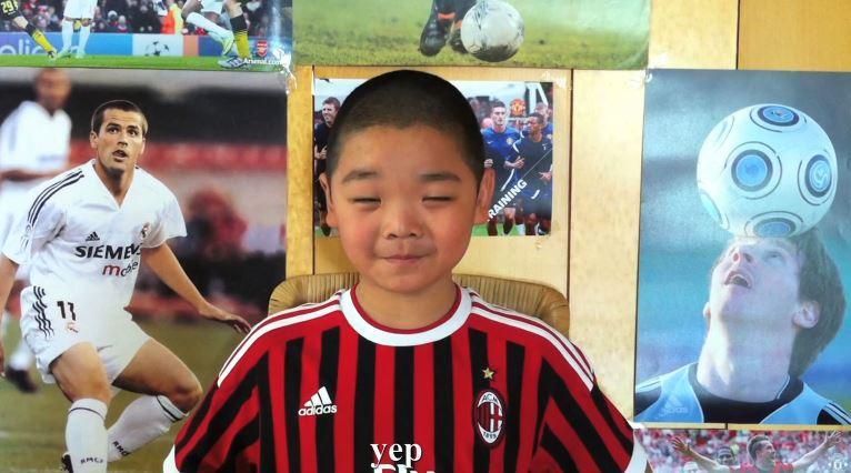 bambino disabile sogna di giocare a calcio con i campioni