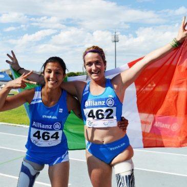Martina Caironi e Monica Contraffatto 1° e 3° posto nei 100 metri alle paraolimpiadi di Rio 2016