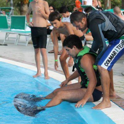Attività sportive al Campus di Orosei 2014