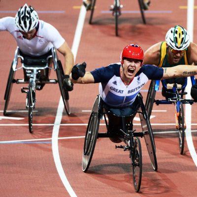 Gare di Hand Bike alle paraolimpiadi