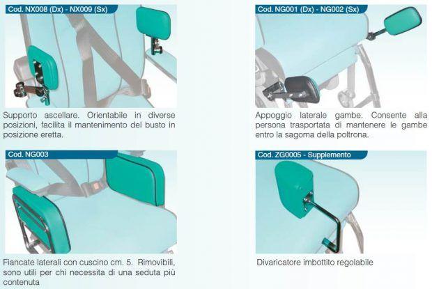 Elementi posturali ed accessori Scoiattolo