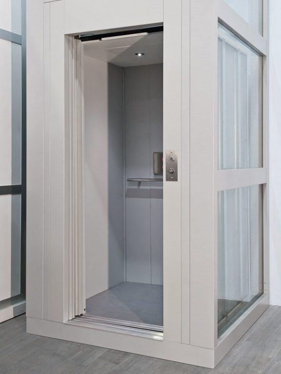 Piattaforma elevatrice per disabili miniascensore contact for Costo ascensore esterno 4 piani