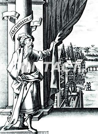 La storia del montascale inizia da Archimede