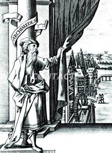 La soria del montascale inizia da Archimede