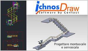 Ichnos programma software montascale