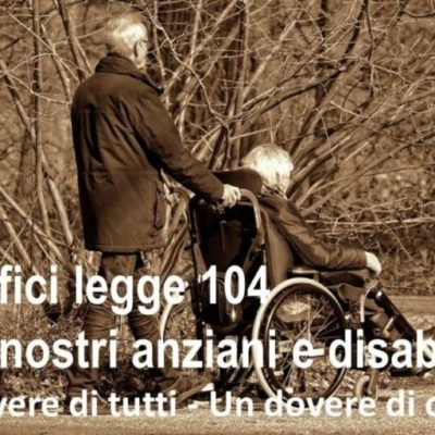Benefici legge 104 e beneficiari