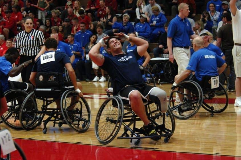 Sportivi disabili