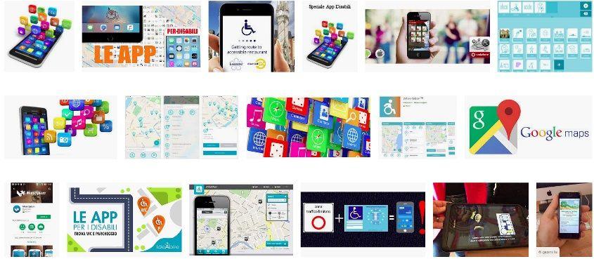 App per disabili