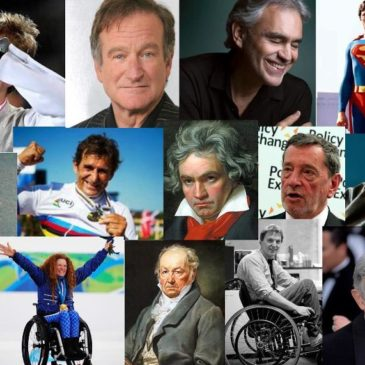 Disabili famosi e Ciechi famosi