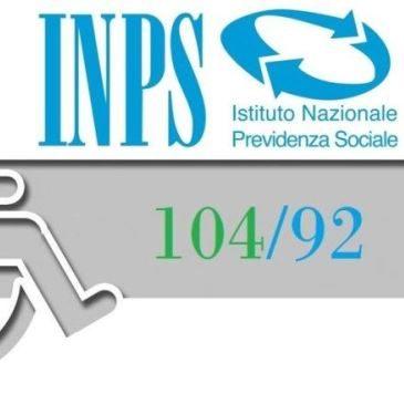 Le competenze dell'INPS per la Legge 104