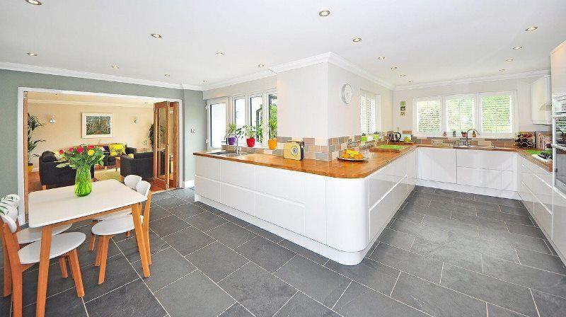 Cucina senza barriere architettoniche